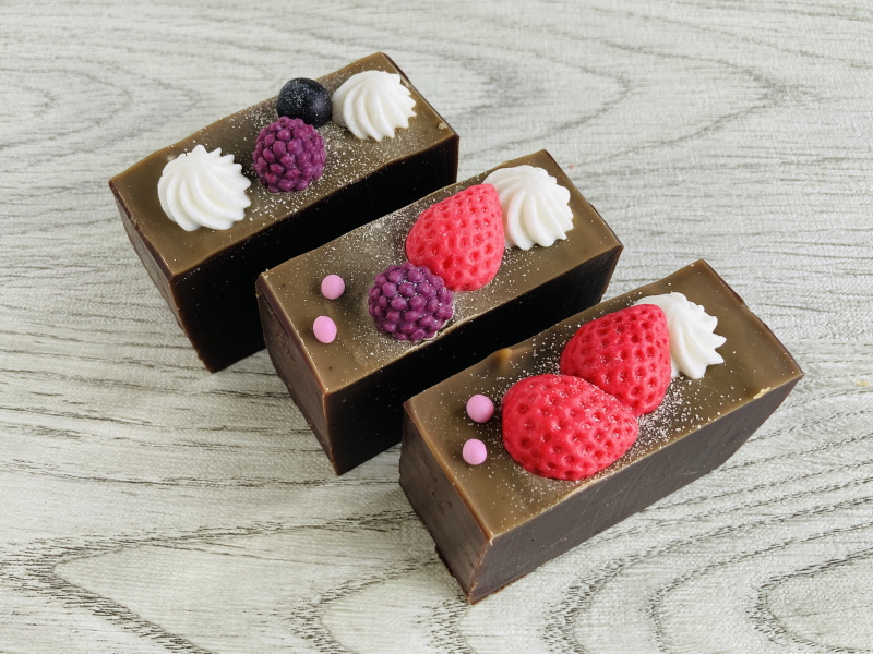 生活の木町田 手作り石けん ケーキ風ソープ チョコレート石けん チョコレートケーキ風9